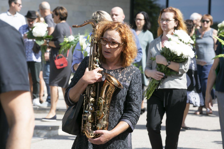 Muzikanto laidotuvės.<br>T.Bauro nuotr.