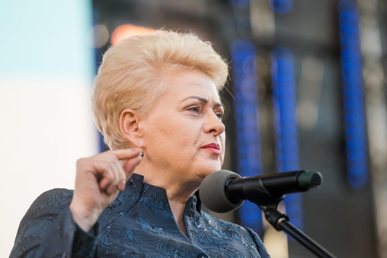 Dalia Grybauskaitė.<br>D.Umbraso nuotr.