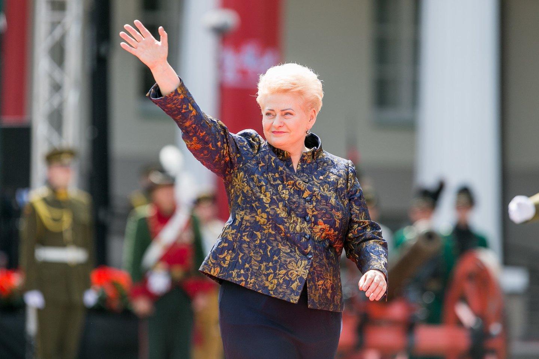Dalia Grybauskaitė.<br>T.Bauro nuotr.