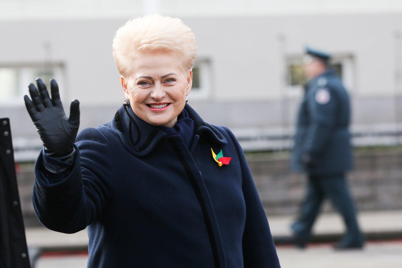 Dalia Grybauskaitė.<br>Lrytas.lt nuotr.