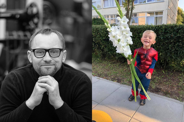 Mažylis Haris paprašė jį nufotografuoti ir nusiųsti tėtei.<br>G.Minelgaitės-Dautorės ir asmeninio archyvo nuotr.