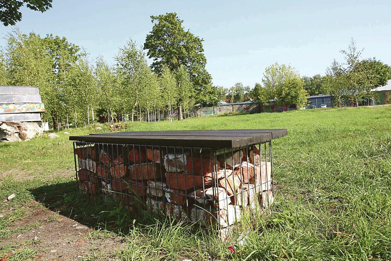 Tarp A.Juozapavičiaus prospekto ir Suomių gatvės esantis Kopūstų laukas ne vienus metus buvo pamėgta Žemųjų Šančių bendruomenės susibūrimo vieta, kurią jie prižiūrėjo, įrengė savadarbius suolus, rengdavo savo šventes. Jaunimas išpuošė apgriuvusias lauko sienas piešiniais.<br>M.Patašiaus nuotr.