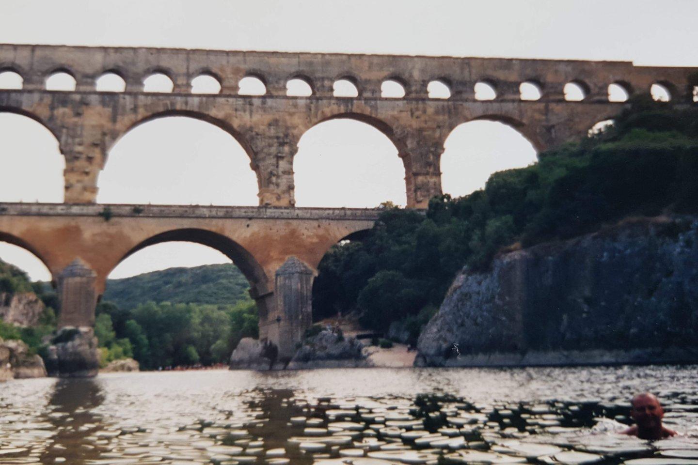 Įspūdingas tiltas, pastatytas, nenaudojant jokios technikos, vergų rankomis.<br>Asmeninio archyvo nuotr.