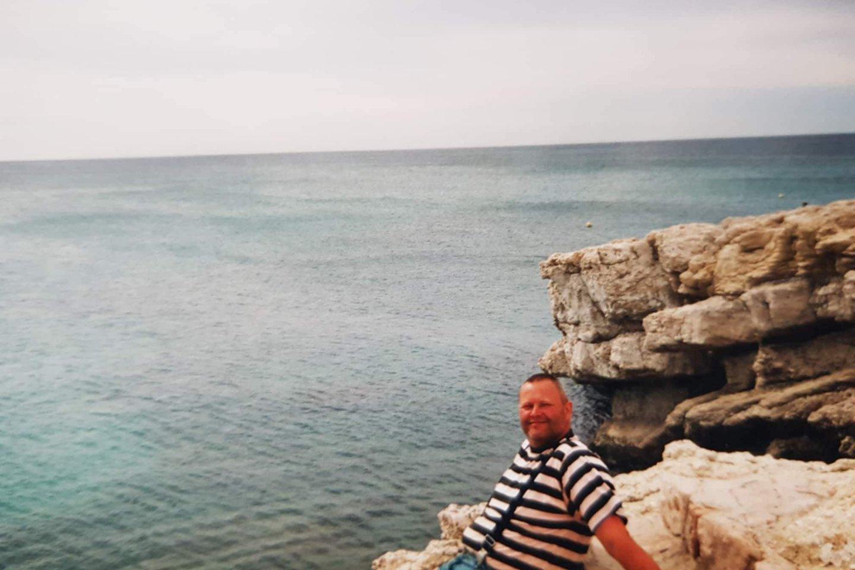 Nuvažiavome prie Viduržemio jūros.<br>Asmeninio archyvo nuotr.