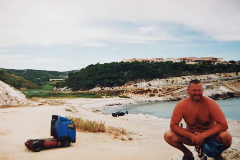 Mobilus viešbutukas Viduržemio jūros pakrantėje.<br>Asmeninio archyvo nuotr.