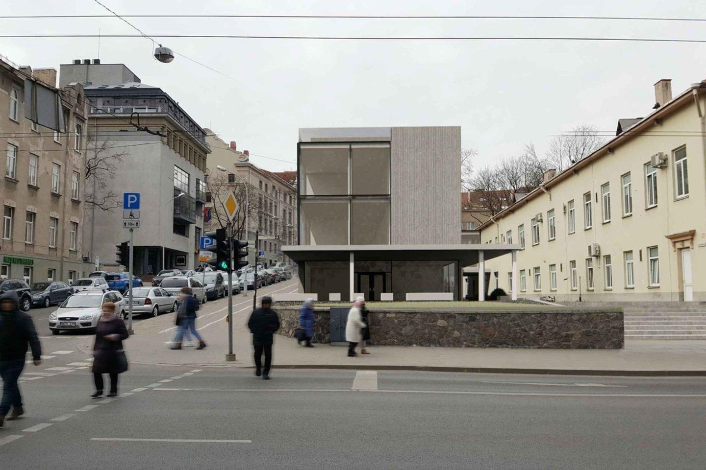 Vilniaus architektūros ir urbanistikos ekspertų taryba svarstys Centro poliklinikos rekonstrukcijos projektą.<br>vizual.