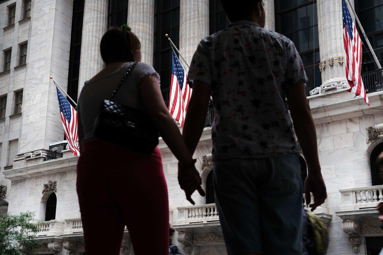 Antradienį smarkiai padidėjo paskolų palūkanų normos – tai labai svarbu pasaulinės finansų sistemos funkcionavimui.<br>Reuters/Scanpix nuotr.