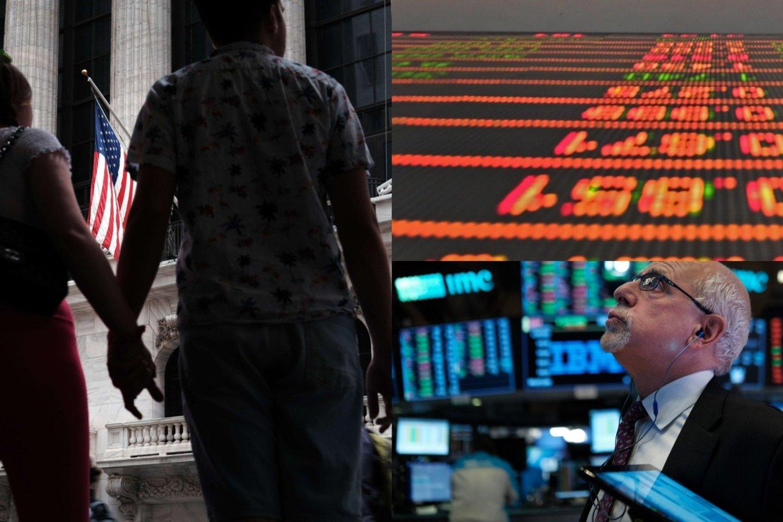 Antradienį smarkiai padidėjo paskolų palūkanų normos – tai labai svarbu pasaulinės finansų sistemos funkcionavimui.<br>lrytas.lt koliažas.