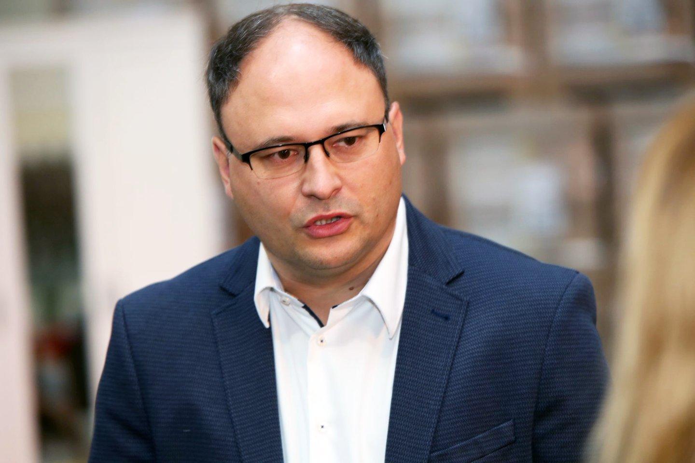 """""""IkeaIndustry Lietuva"""" baldų gamyklos vadovas Kęstutis Čičinskas.<br>M.Patašiaus nuotr."""