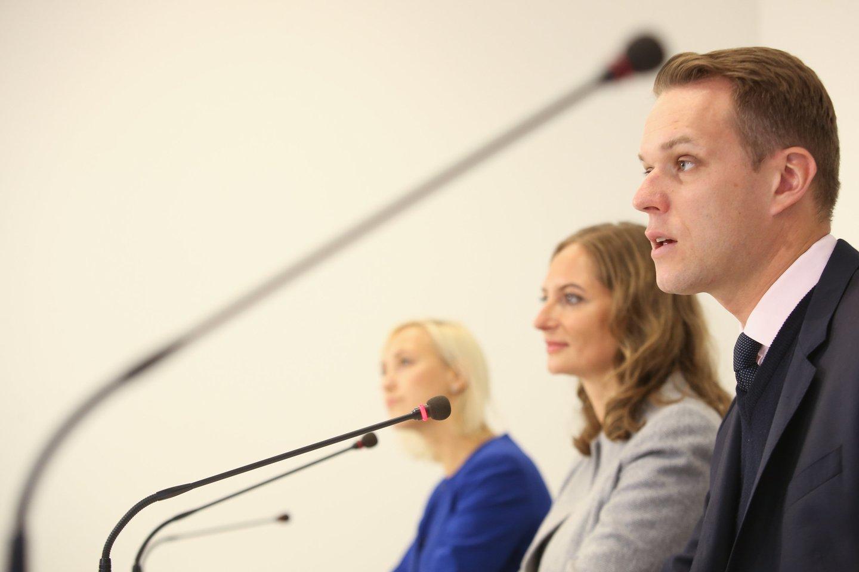 Pirmadienį po rinkimų konservatoriai džiaugėsi pergalėmis.<br>R.Danisevičiaus nuotr.