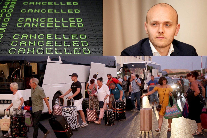 """S.Bartkaus nuomone, dėl pastarojo meto įvykių laimės pigių skrydžių įmonės.<br>AFP/""""Scanpix"""" ir """"Reuters""""/""""Scanpix"""" nuotr."""