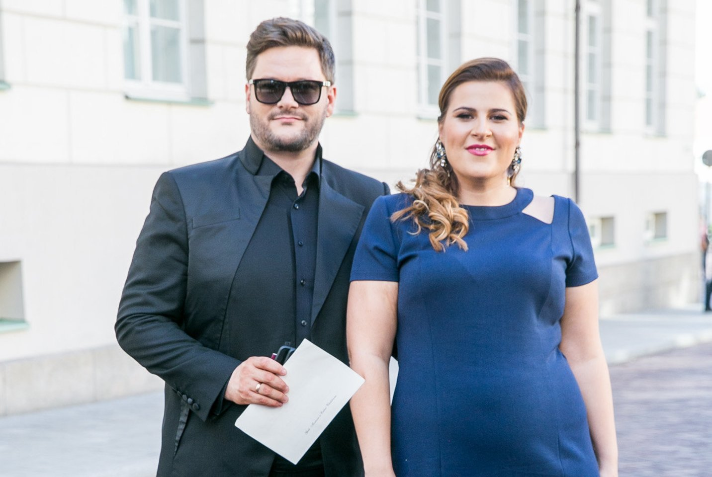 Merūnas ir Erika Vitulskiai.<br>T.Bauro nuotr.
