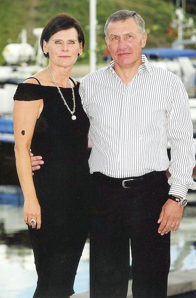 R.Karpavičius savo buvusiai žmonai Audronei, su kuria gyveno 40 metų, testamentu nepaliko nieko.