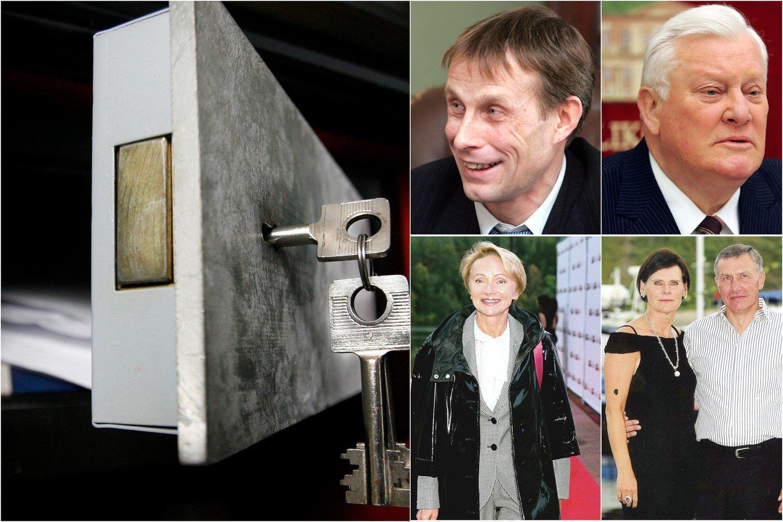 Milijoninio palikimo dalybos – su detektyvo prieskoniu, neaplenkė ir žinomiausių Lietuvos šeimų.<br>Lrytas.lt koliažas