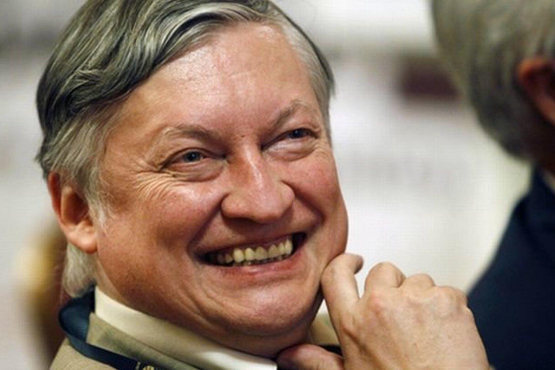 A.Karpovas viešėjo Lietuvoje.<br>Reuters/Scanpix.com nuotr.