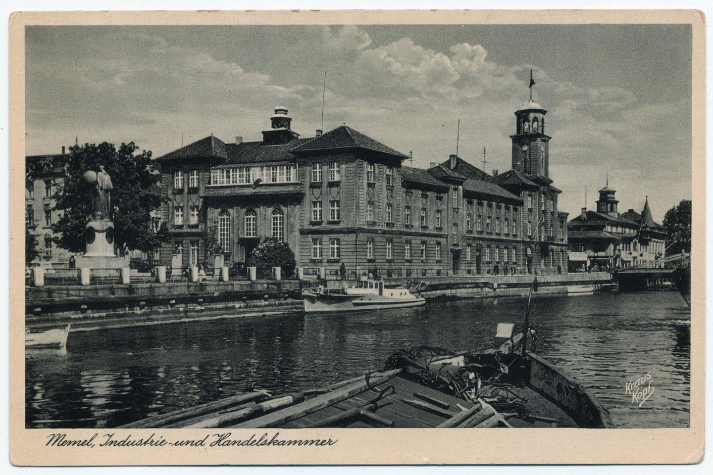 Biržos pastatas, kuriame veikė Klaipėdos krašto pramonės ir prekybos rūmai, tarpukariu puošė uostamiesčio panoramą.