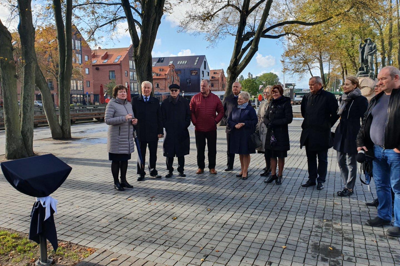 Klaipėdos prekybos, pramonės ir amatų rūmų veiklos bei tradicijų tęsėjai.<br>G.Pilaičio nuotr.