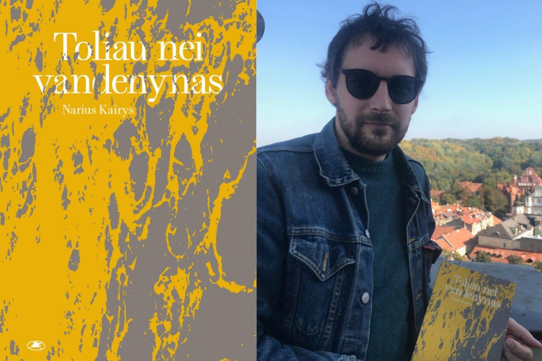 Narius Kairys išleido debiutinį romaną.<br>L.Spurgienės nuotr.