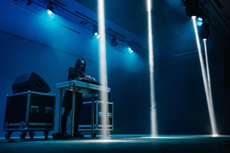 """Antrajame festivalio """"Gaida"""" koncerte skambėjo elektroninė muzika.<br>J.Dargytės nuotr."""
