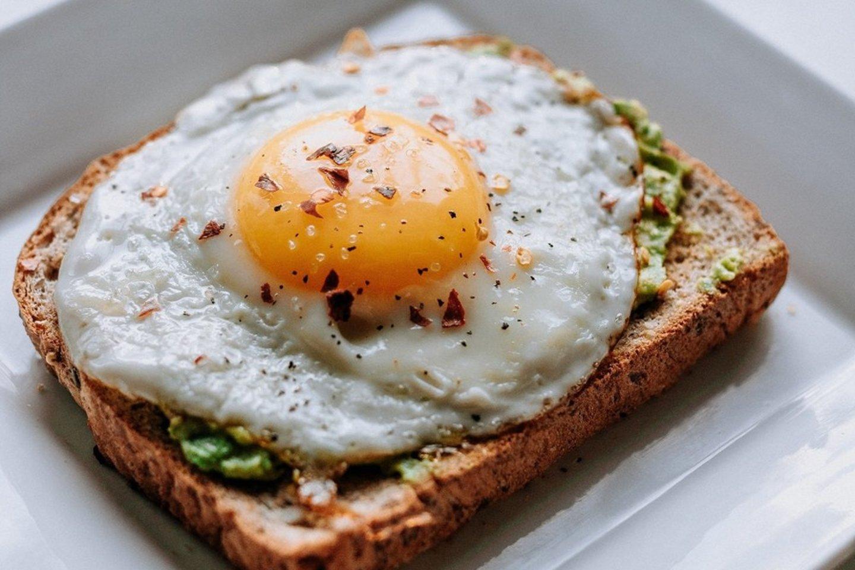 Kiaušinis – sveikų pusryčių karalius.<br>Pranešimo autorių nuotr.