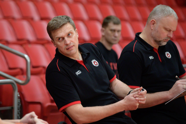 Dainius Adomaitis liko patenkintas komandos žaidimu.<br>V.Ščiavinsko nuotr.