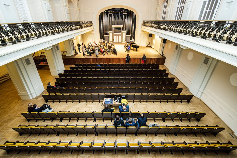 Atnaujinta Filharmonijos Didžioji salė.<br>D.Matvejevo nuotr.