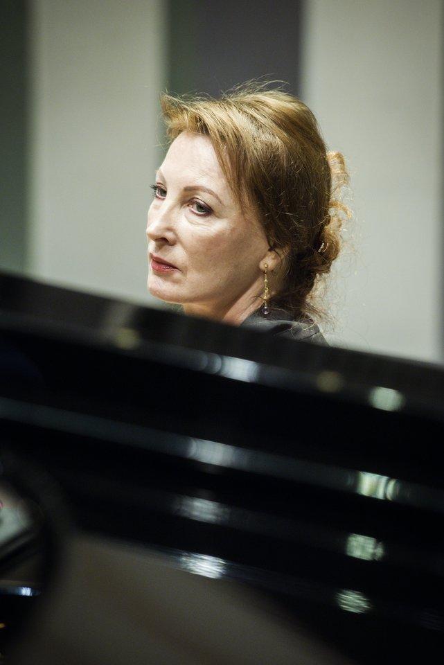 Pianistės M.Rubackytės vadovaujamo VI Vilniaus fortepijono festivalio koncertai pradės 79-ąjį Filharmonijos sezoną.<br>D.Matvejevo nuotr.