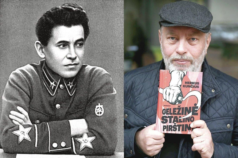 """H.Kunčius naujame romane """"Geležinė Stalino pirštinė"""" pabandė įsivaizduoti NKVD budelio N.Ježovo gyvenimą.<br>R.Danisevičiaus ir """"Facebook"""" nuotr."""