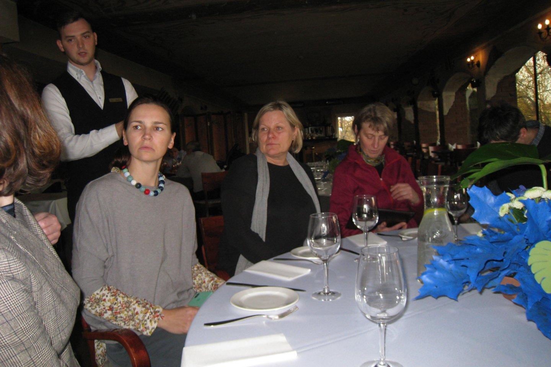 """Vakarienė Panevėžio """"Romantic"""" viešbučio restorane.<br>M.Augulytės nuotr."""