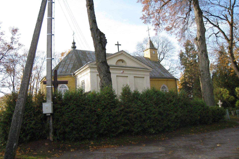 Šventybrasčio bažnyčioje krikštytas poetas Cz.Miloszas.<br>M.Augulytės nuotr.