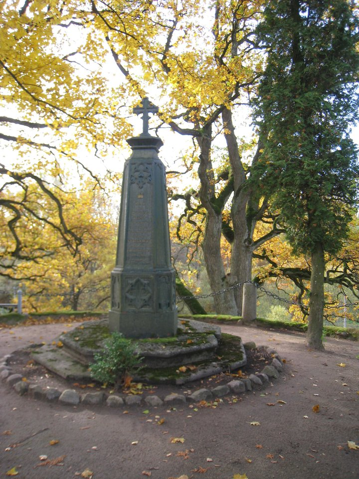 Čia, Šventybrasčio kapinaitėse, ilsisi poeto Cz.Miloszo protėviai.<br>M.Augulytės nuotr.