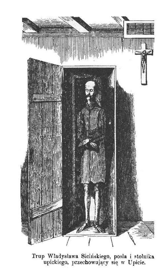 V.Sicinskio mumija.