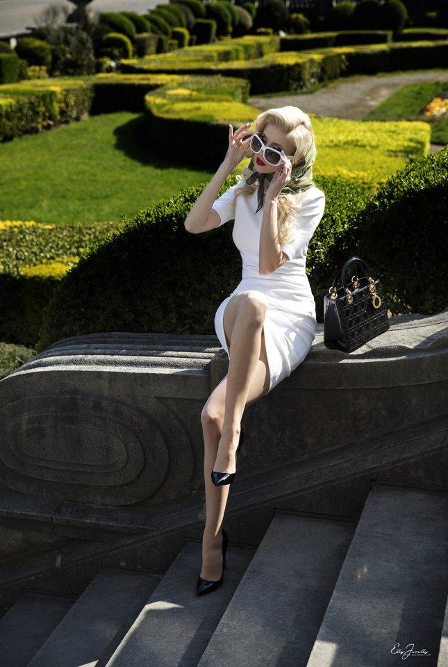 Rolando Pakso dukra Inga Stumbrienė sužėrėjo stilingoje fotosesijoje...