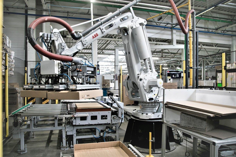 SBA grupės pajamas augino našumą didinančios investicijos į automatizaciją bei robotus.<br>Organizatorių nuotr.