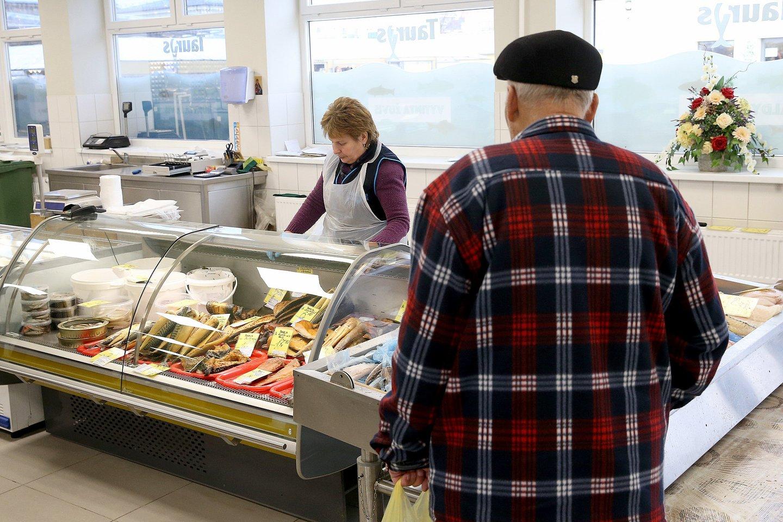 Vartotojų įpročiai lemia ir žvejybos pasirinkimus.<br>R. Danisevičiaus nuotr.