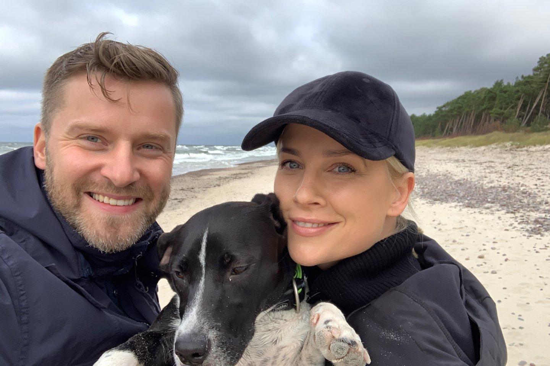 Nedaugelis tai žino, tačiau aktorė, dainininkė ir televizijos laidų vedėja Inga Jankauskaitė neabejinga beglobiams šunims.<br>Asmeninio albumo nuotr.
