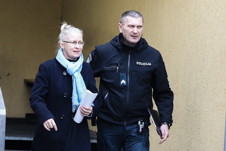 N.Venckienė lieka suimta 2 mėnesiams, pilnai patenkinus prokuratūros prašymą.<br>G.Bitvinsko nuotr.