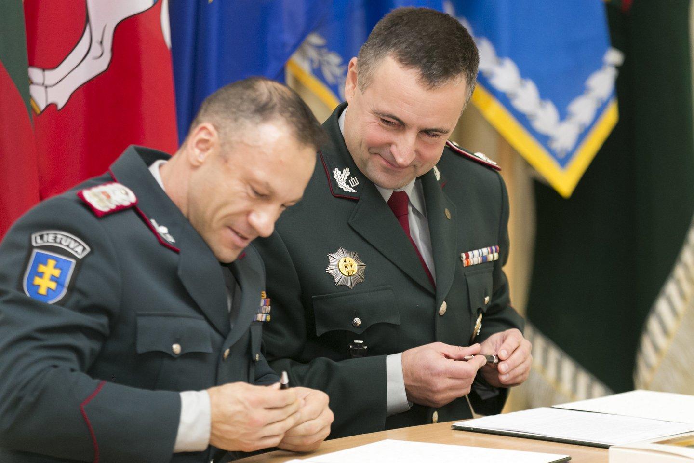 Penkerius metus pasieniečiams vadovavęs R.Požėla grįžo į darbą policijoje.<br>T.Bauro nuotr.