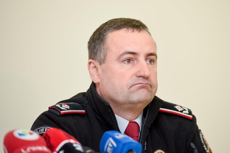 Penkerius metus pasieniečiams vadovavęs R.Požėla grįžo į darbą policijoje.<br>D.Umbraso nuotr.