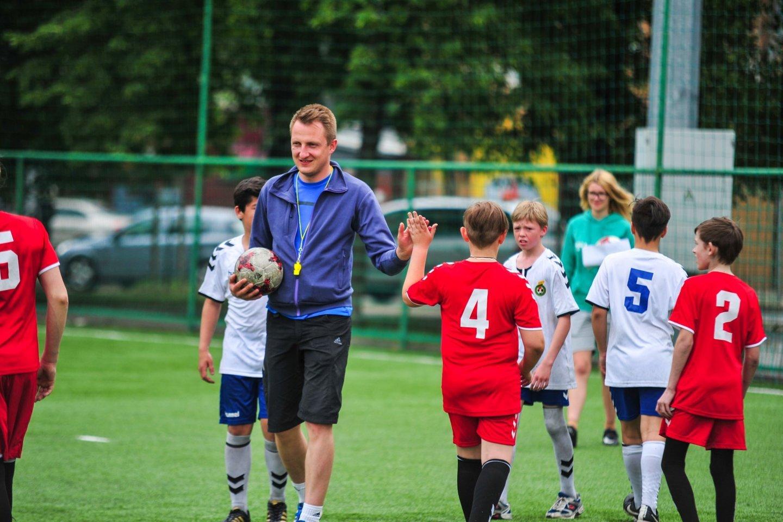 Masinio futbolo asociacijos direktorius Ignas Marcinkevičius<br>lff.lt nuotr.