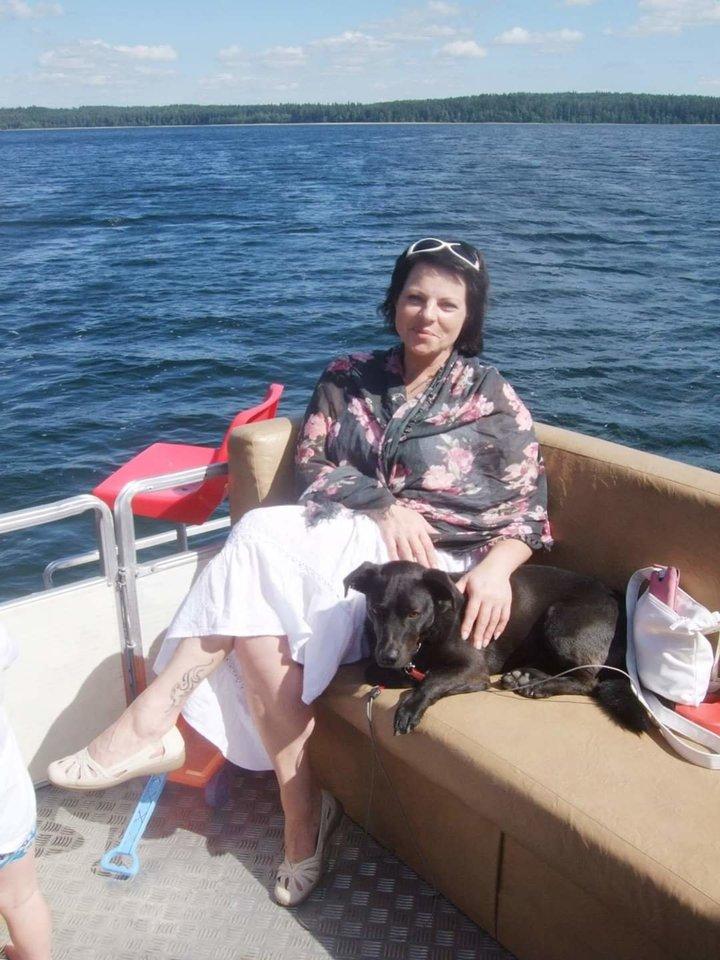 """""""Ruošiantis išvykti net klausimas nekilo, ką darysime su šuniu, iš karto buvo aišku – vyks kartu"""", – pasakoja Vaida.<br>Asmeninio archyvo nuotr."""