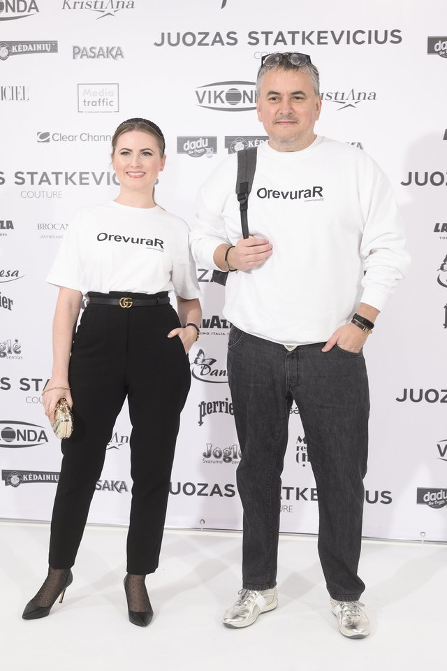 Juozo Statkevičiaus kolekcijos svečiai.<br>V.Skaraičio nuotr.