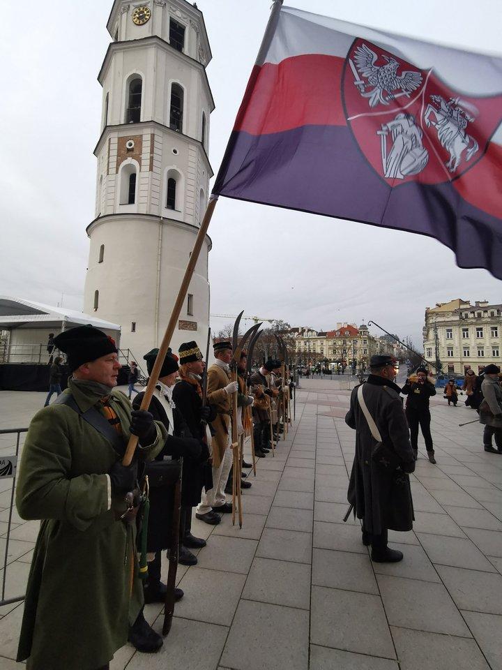 1863-1864 metų sukilimo vadų ir dalyvių valstybinės laidotuvės.<br>R.Danisevičiaus nuotr.
