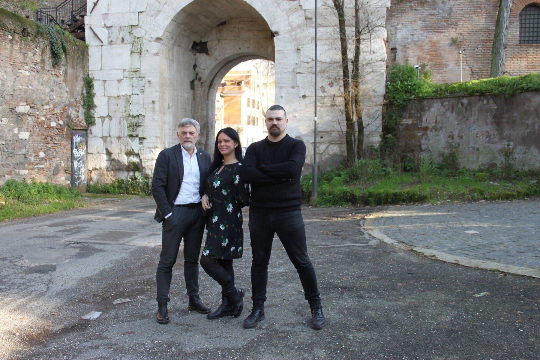 Jurkevičių šeima išleido dvi naujas knygas apie Italiją.<br>Nuotr. iš asmeninio albumo