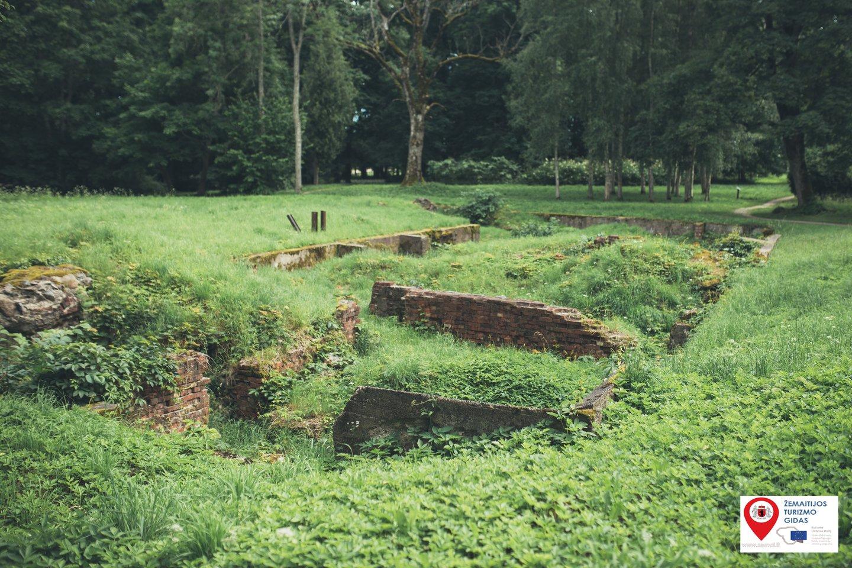 Platelių dvaro sodyboje – pažintis su Sofija Tyzenhauzaite ir pamirštu lietuvišku žaidimu.<br>Žemaitijos turizmo centro nuotr.