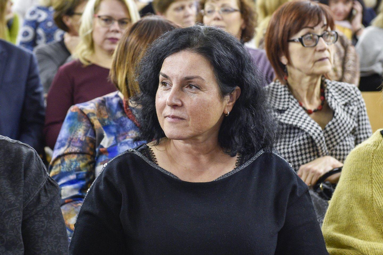 Ketvirtadienį mokytojai išreiškė nepasitenkinimą ministru A.Monkevičiumi.<br>V.Ščiavinsko nuotr.