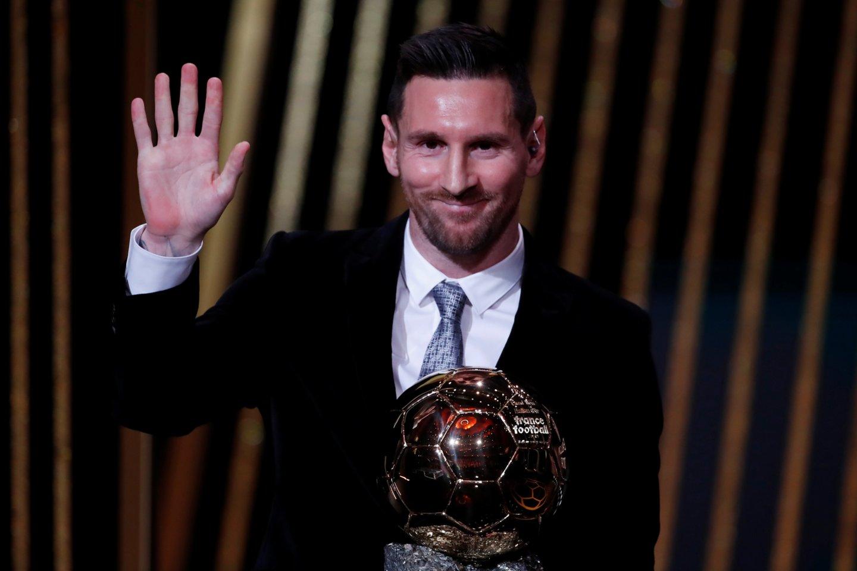 Geriausių futbolininkų apdovanojimai.<br>Reuters/Scanpix nuotr.