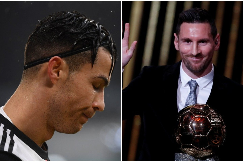 """C. Ronaldo nepasirodė """"Ballon d'Or"""" apdovanojimų ceremonijoje.<br>lrytas.lt montažas"""