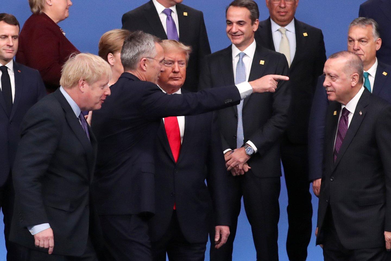 Turkija pastaruoju metu vienintelė atsisakė patvirtinti atnaujintą Baltijos šalių ir Lenkijos gynybos planą, kol nebus sutarta dėl panašaus plano Turkijai.<br>Reuters/Scanpix nuotr.