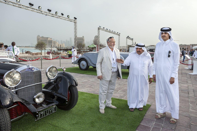 Savo išskirtinius automobilius S.Karosas yra rodęs ir Kataro šeichams.<br>V.Grigo nuotr.